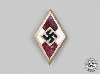 Germany, HJ. An Honour Badge, by Wilhelm Deumer