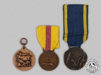 Italy, Kingdom. Three Medals & Awards