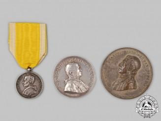 Vatican; Italy, Kingdom. Three Medals & Awards