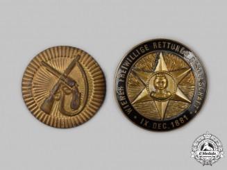 Austria, Empire. Two Badges