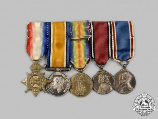 United Kingdom. A First War Miniature Group