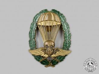 Hungary, Kingdom. A Rare Royal Hungarian Army Master Parachutist's Badge