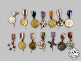 Poland, Republic, People's Republic. A Lot of Twenty-Three Miniature Awards