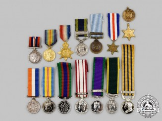 United Kingdom, Canada, South Africa, United Nations. A Lot of Fifteen Miniature Awards
