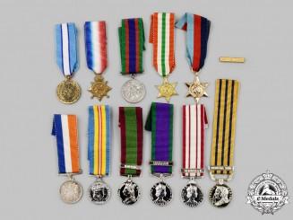 United Kingdom, Canada, United Kingdom. A Lot of Twelve Miniature Awards
