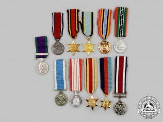 United Kingdom, Canada, United Nations. A Lot of Eleven Miniature Awards