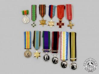 United Kingdom, Canada, International. A Lot of Twelve Miniature Awards