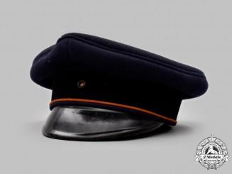 Germany, Reichsbahn. An Employee's Visor Cap