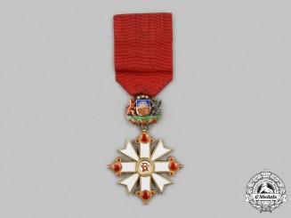 Latvia, Republic. An Order of Vesthardus, V Class Knight, c.1940