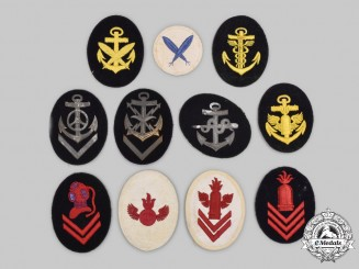 Germany, Kriegsmarine. A Lot of Trade and Specialist Insignia