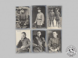 Germany, Imperial. A Lot of Postcards of First World War Flying Aces and Air Force Personnel