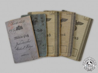 Germany. A Mixed Lot of Military Service Booklets