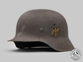 Germany, Heer. An M42 Single Decal Stahlhelm