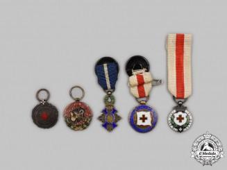 Spain, Facist State. Five Miniature Awards