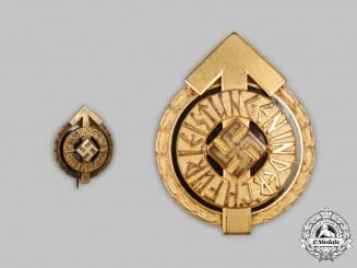 Germany, HJ. A Golden Leader's Sports Badge