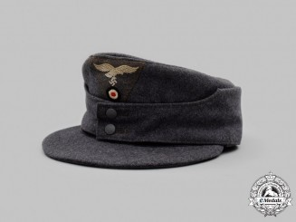 Germany, Luftwaffe. An Enlisted/NCO's M43 Field Cap
