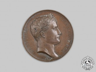 France, Napoleonic Kingdom. A Creation of the Kingdom of Westphalia Medal 1807