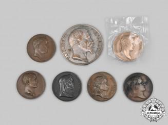 France. A Lot of Seven Restruck Medals