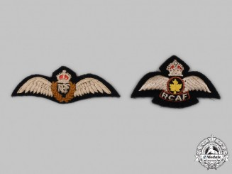 Canada. Two Second War Royal Canadian Air Force (RCAF) Dress Wings