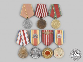 Romania, People's Republic. A Lot of Seven Medals
