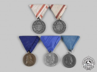 Hungary, Kingdom. A Lot of Five Commemorative Medals