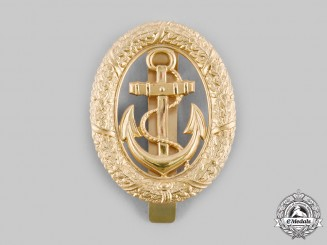 Germany, Federal Republic. A Bundesmarine Officer of the Watch Badge, by F.W. Assmann & Söhne