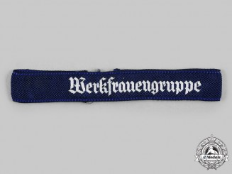 Germany, DAF. A Women's Labour Group Cuff Title