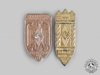Germany, HJ. A Pair of Commemorative Badges