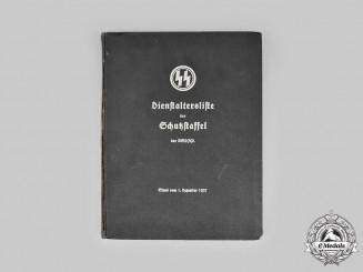 Germany, SS. A Dienstaltersliste der Schutzstaffel, 1937 Edition