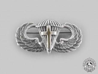 United States. An Army Airborne Chaplain's Basic Parachutist Badge, by Amico, c.1942