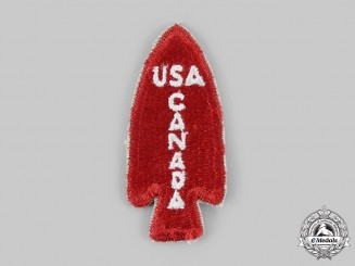 Canada, United States. A 1st Special Service Force Shoulder Patch