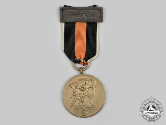 Germany, Wehrmacht. A Sudetenland Medal with Prague Castle Bar