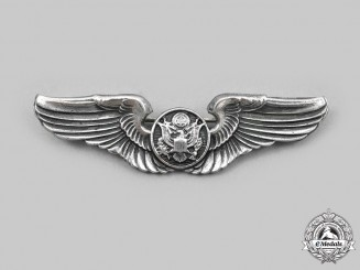 United States. An Army Air Force Aircrew Badge, Reduced Size, c.1941