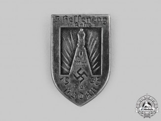 Germany, NSDAP. A 1935 Kassel 5th Hessentag Commemorative Badge
