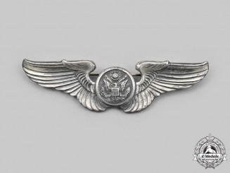 United States. An Army Air Force Aircrew Badge, c.1941
