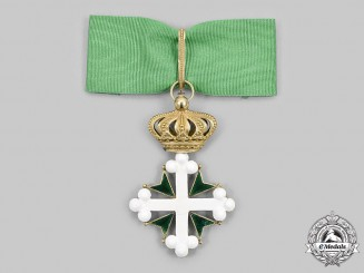 Italy, Kingdom. An Order of St. Maurice and St. Lazarus, III Class Commander, in Gold