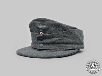 Germany, Heer. An EM/NCO M43 Field Cap 1944