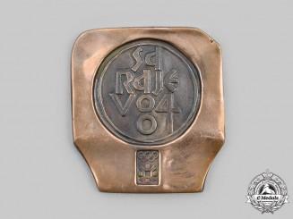 Yugoslavia, Republic. A Yugoslavian Socialist 1984 Sarajevo Winter Olympics Participant's Medal