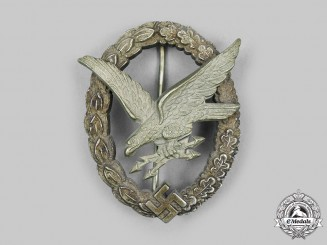 Germany, Luftwaffe. An Air Gunner's & Flight Engineer's Badge, by JMME & SOHN BERLIN
