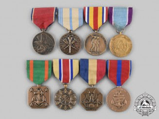 United States. A Lot of Eight Armed Forces Awards