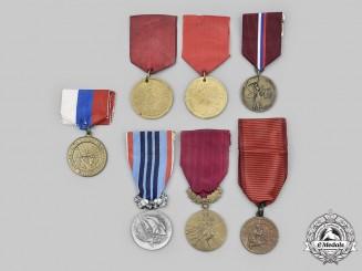 Czechoslovakia, Socialist Republic; Slovakia, Republic. Lot of Seven Awards