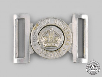 Northern Rhodesia. A Northern Rhodesia Police Belt Buckle