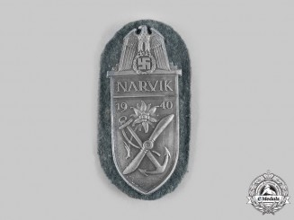 Germany, Heer. A Narvik Shield, Army Issue