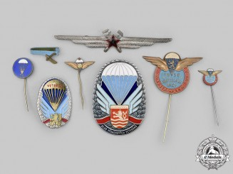 Czechoslovakia, Socialist Republic. A Lot of Eight Badges