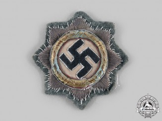Germany, Heer. A German Cross in Gold, Type I Cloth Version, Heer Issue