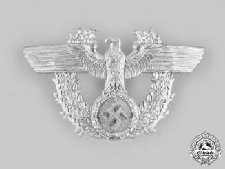 Germany, Ordnungspolizei. A Shako Insignia