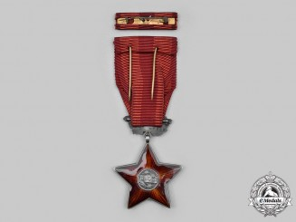 Czechoslovakia, Socialist Republic. An Order of the Red Star, Type I