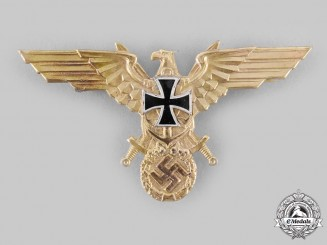 Germany, Third Reich. A National Socialist German Navy League Breast Insignia