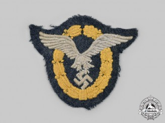 Germany, Luftwaffe. A Combined Pilot and Observer Badge, Cloth Version