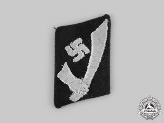 Germany, SS. A 13th Waffen Mountain Division of the SS Handschar Collar Tab